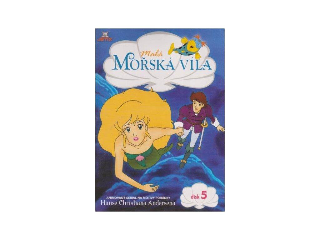 Malá mořská víla 5 DVD papírový obal