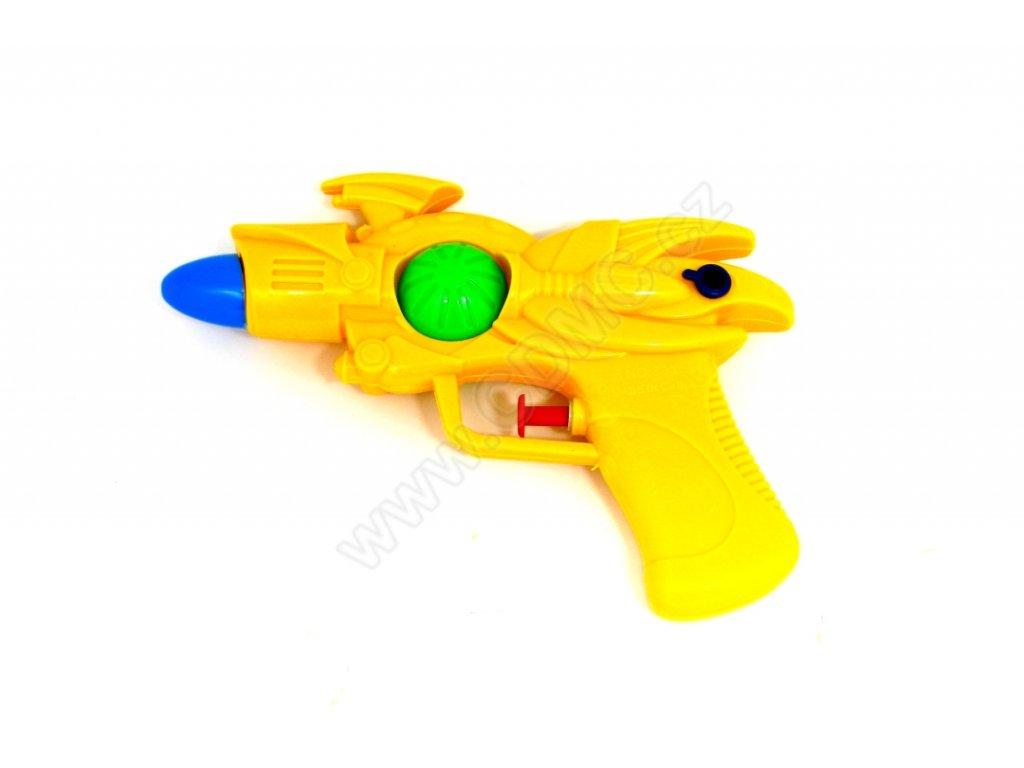 Vodní pistole žlutá 17 cm