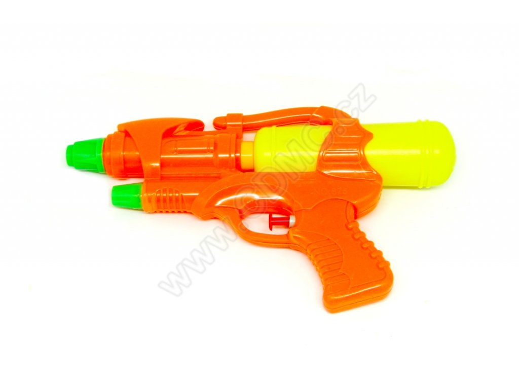 Vodní pistole oranžová 25 cm