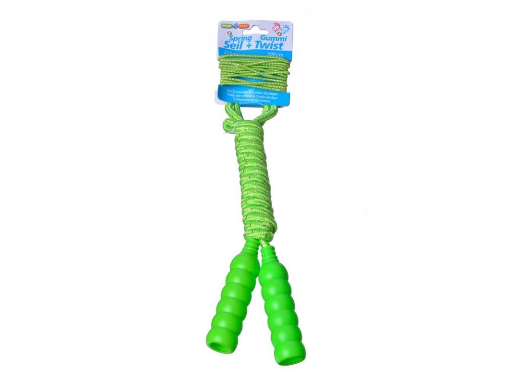 Maro toys švihadlo se skákací gumou zelené 213 cm