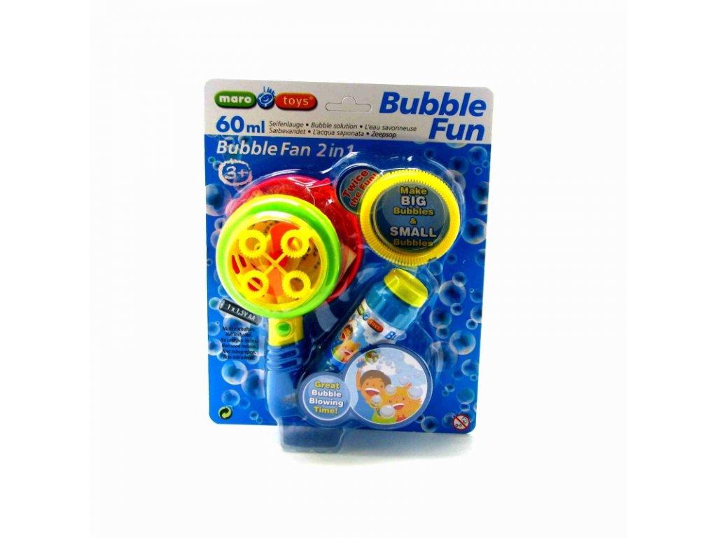 Maro Toys Bublifuk 2 v 1 zelený
