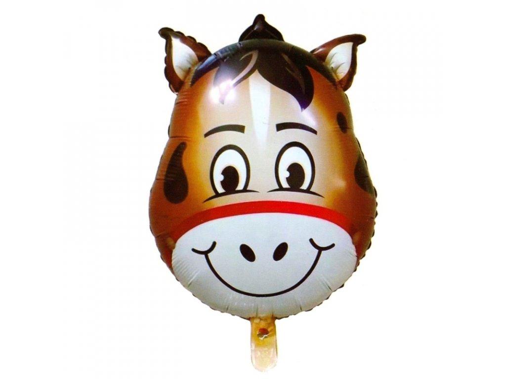 40402 nafukovaci balonek hlava kone 45 cm