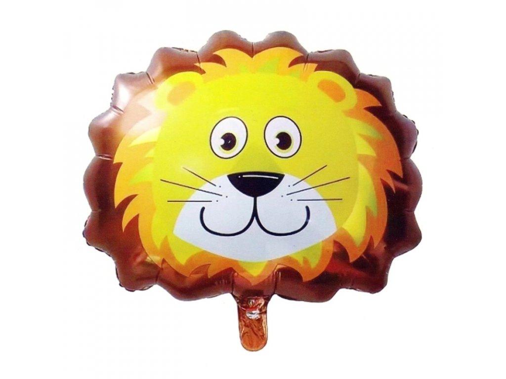 40411 nafukovaci balonek hlava lva 55 cm