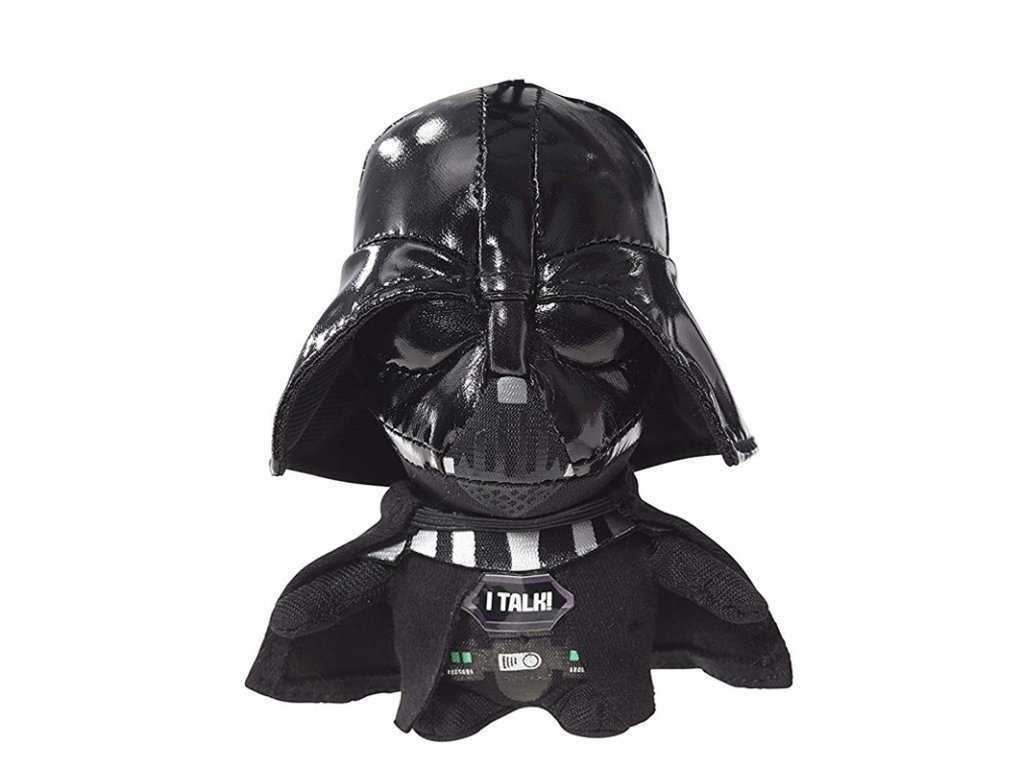 Star Wars VII: Mini mluvící plyšová hračka Darth Vader 10 cm