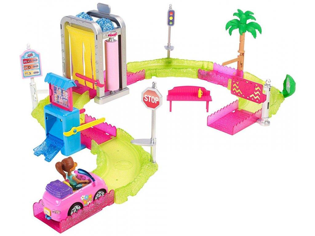 25338 mattel barbie mini vozomycka herni set 0001