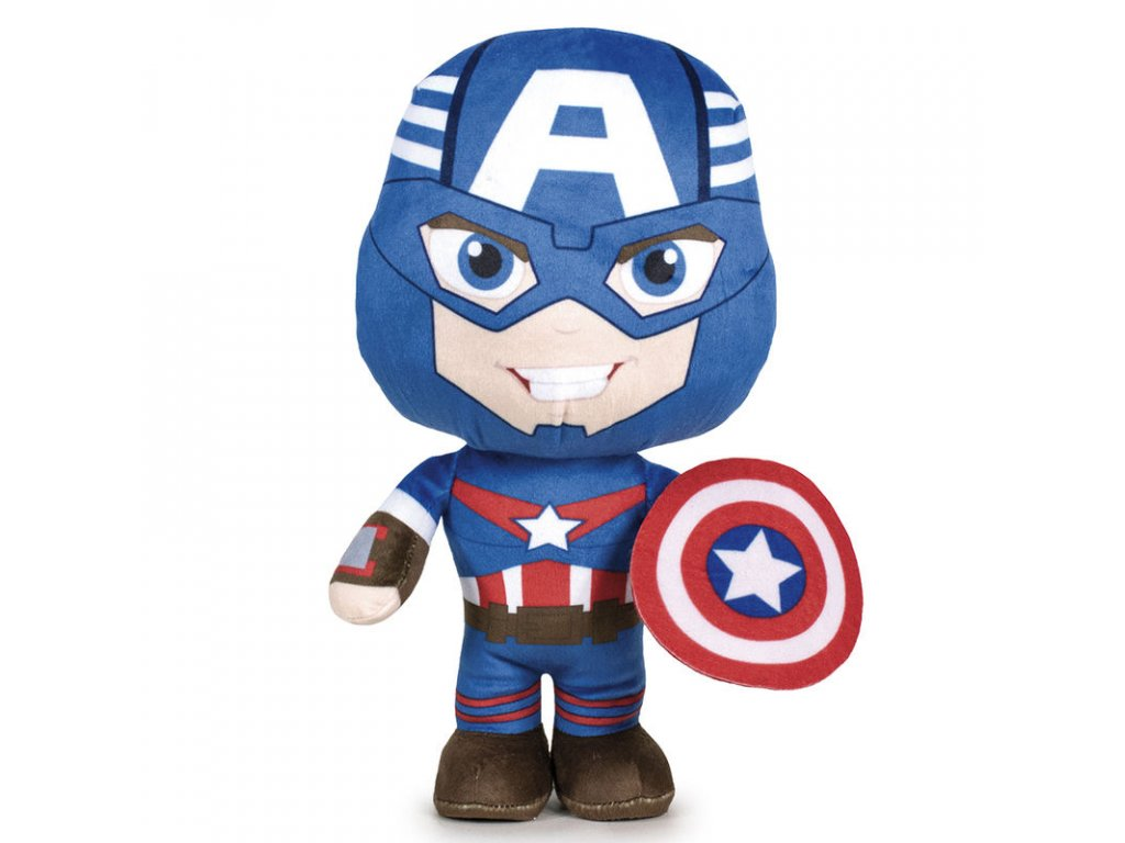 25851 avengers plysovy captain america 8461