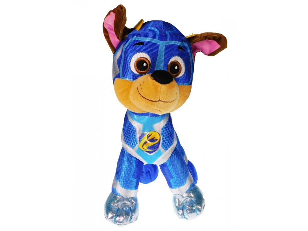 30731 plysova figurka tlapkova patrola super mighty pups chase 6558
