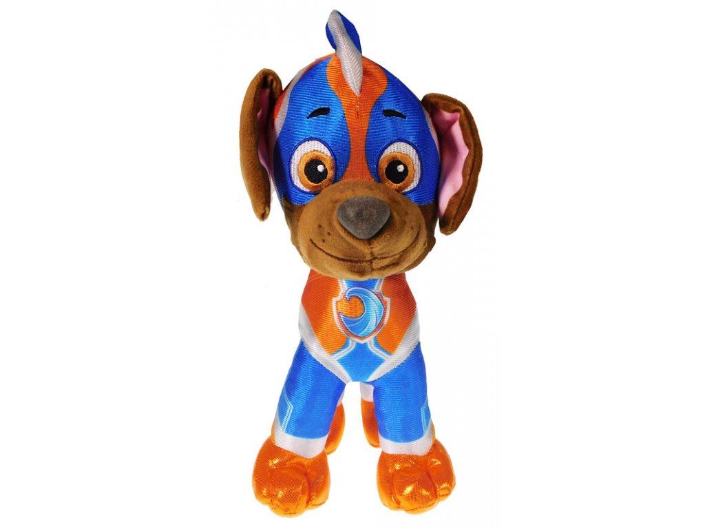 30743 plysova figurka tlapkova patrola super mighty pups zuma 6558