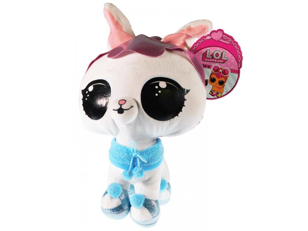 33041 2 l o l surprise crystal bunny plysak 7845
