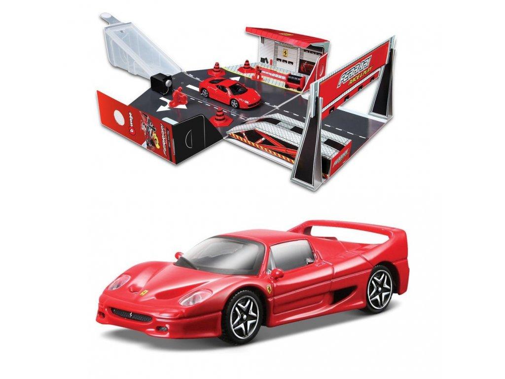 65195 bburago ferrari open play autodraha s autem 1 43