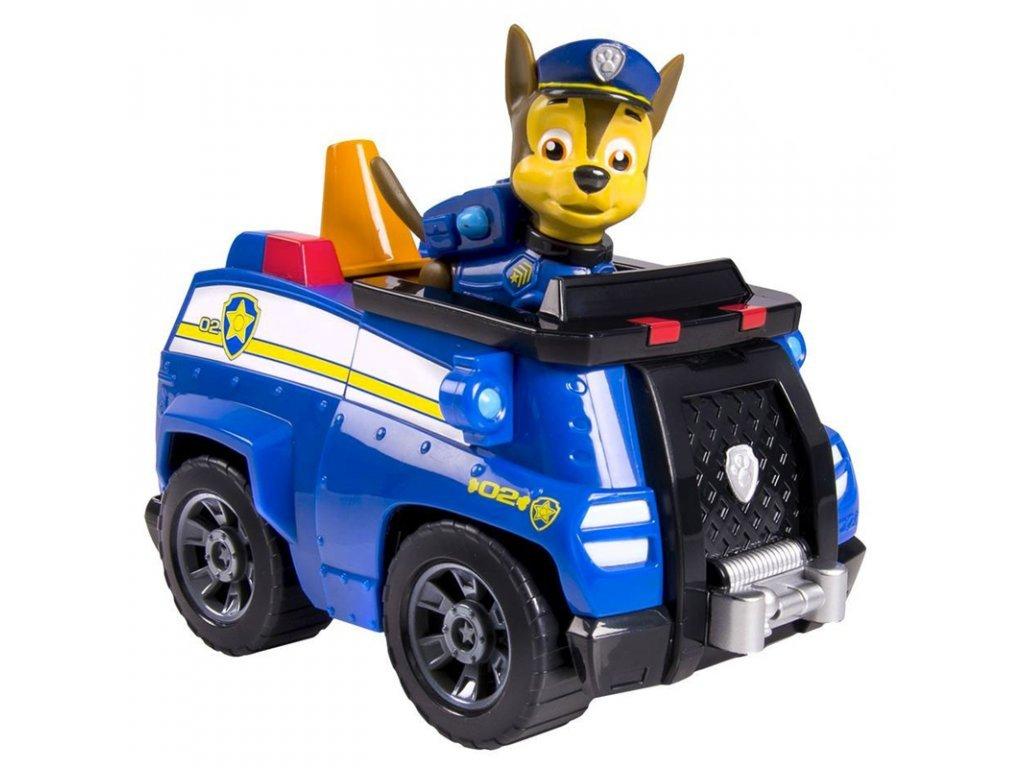 Tlapkova patrola policejni auto s figurkou Chase