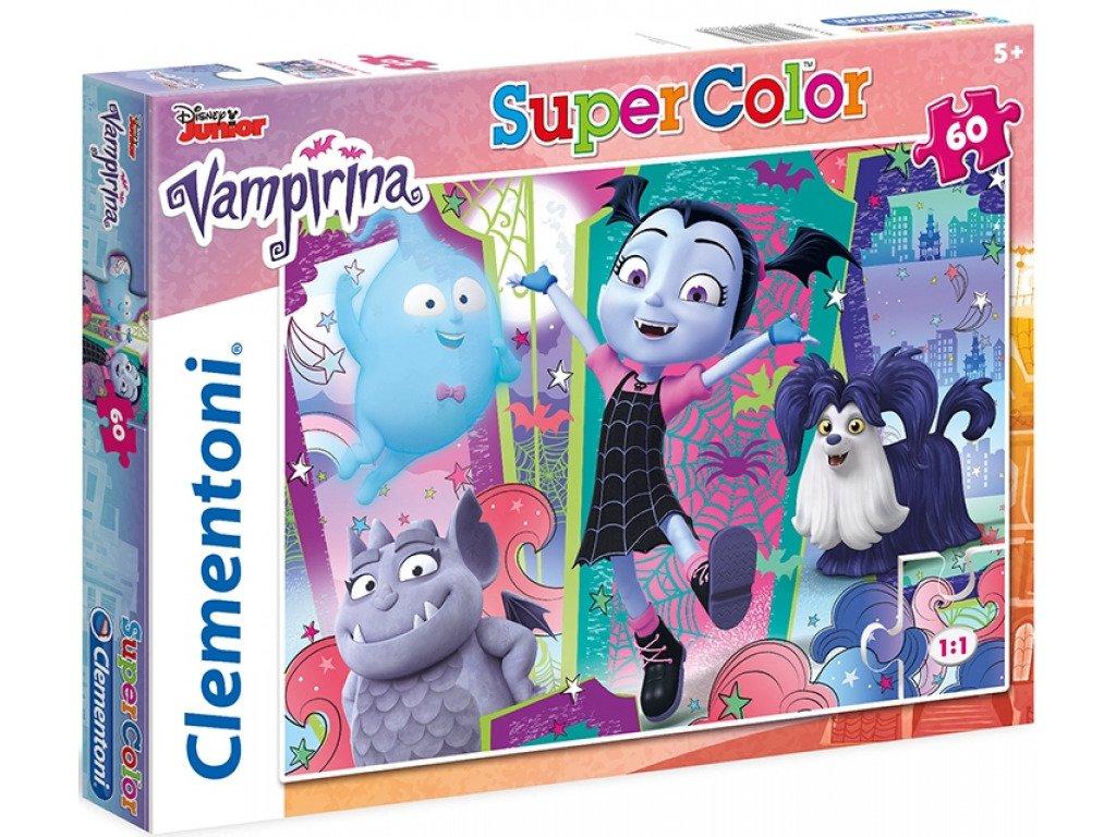 clementoni puzzle vampirina 60 dilku
