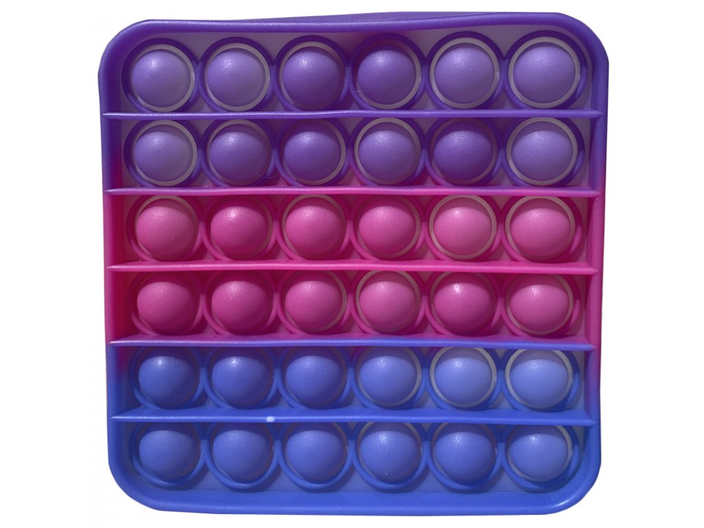 43357 antistresova hracka pop it ctverec menici barvu