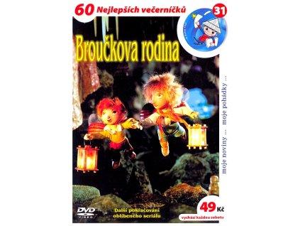 Broučkova rodina DVD papírový obal