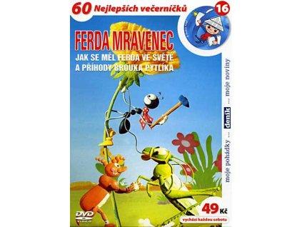 Ferda Mravenec DVD papírový obal