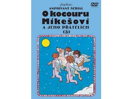 O kocouru Mikešovi 3 DVD papírový obal