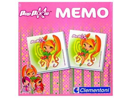 Pexeso - Pop Pixie Memo (7411) Clementoni