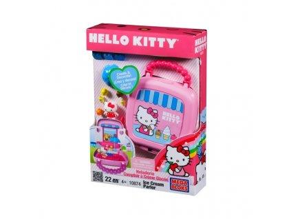 Mega Bloks - Hello Kitty (0874) Stánek se zmrzlinou