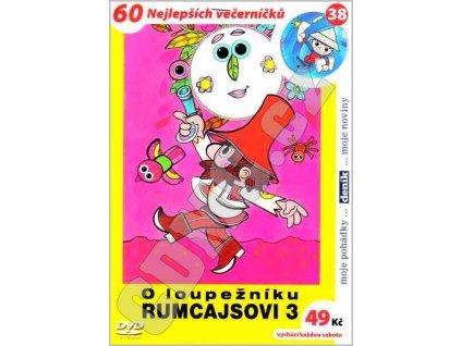 O loupežníku Rumcajsovi 3 DVD papírový obal