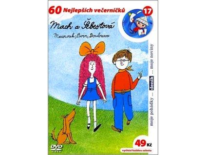 Mach a Šebestová DVD papírový obal