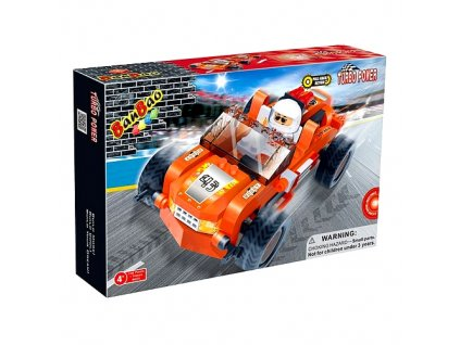 Stavebnice BanBao - Auto Turbo Power Buggy (6231) 108 dílků