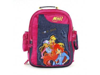 0571d3175ca Winx Club - Školní batoh (1626) růžovo-modrý