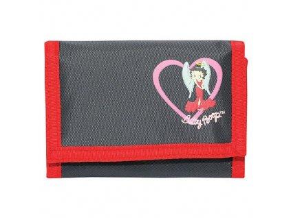 Betty Boop peněženka (0129) černo-červená