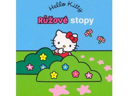 Hello Kitty Růžové stopy leporelo