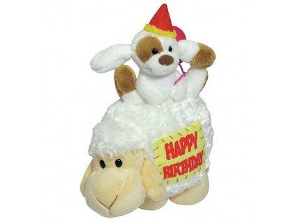 Mylo plyšová ovečka s pejskem (1255) 18 cm