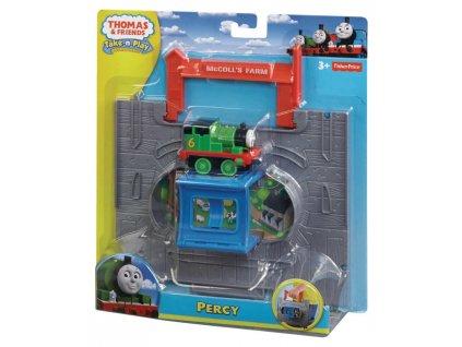 Fisher Price Y8759 Mašinka Tomáš TAKE-N-PLAY (5984) startovní hrací sada Percy