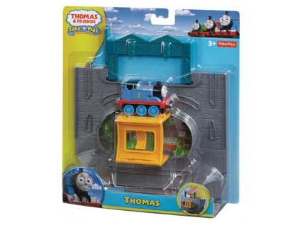 Fisher Price Y8759 Mašinka Tomáš TAKE-N-PLAY (5977) startovní hrací sada Thomas