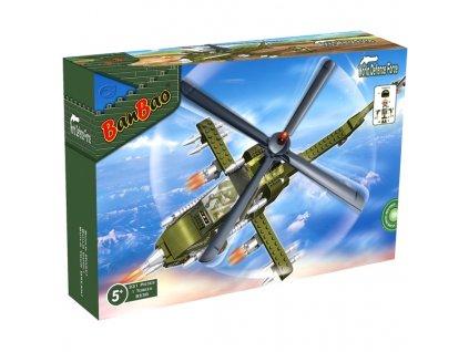 BanBao stavebnice (2387) Bojový vrtulník 231 dílků