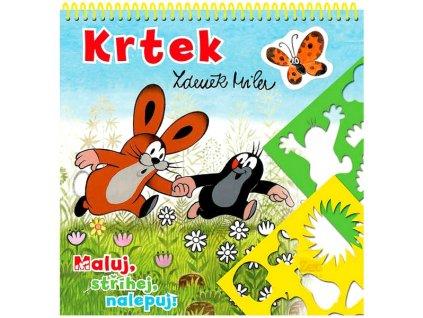 Krtek - Zdeněk Miler - Maluj, stříhej, nalepuj!