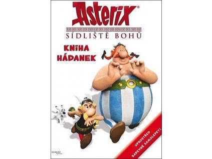 Asterix Sídliště bohů - kniha hádanek se samolepkami