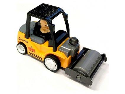 Mini Truck nakladač s válcem žlutý