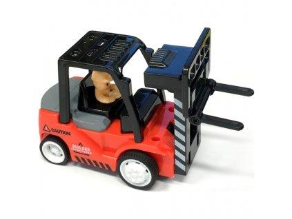 Mini Truck nakladač vysokozdvižný červený