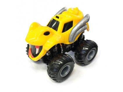 Monster 4x4 SUV auto na setrvačník I.série 13cm žluté (C)