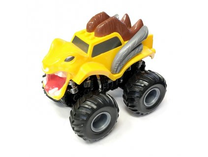Monster 4x4 SUV auto na setrvačník I.série 13cm žluté (A)