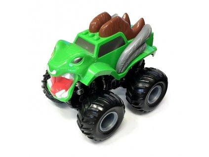 Monster 4x4 SUV auto na setrvačník I.série 13cm zelené (A)