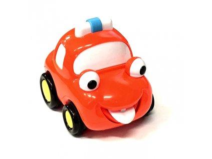 Q-Machines veselé auto červené 3913