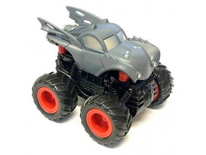 Small Monster 4x4 SUV auto na setrvačník 9cm šedé A
