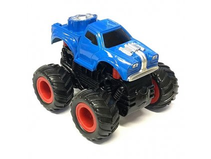 Small Monster 4x4 SUV auto na setrvačník 9cm modré
