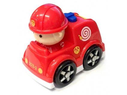 Autíčko s řidičem hasiči