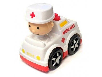 Autíčko s řidičem ambulance