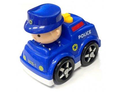 Autíčko s řidičem policie