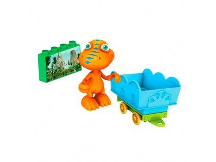 Mega Bloks Dinosaurus s vagónkem BUDDY