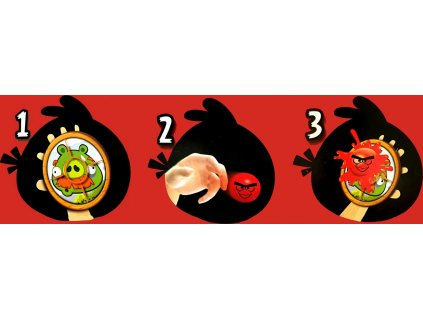 IMC Angry Birds 2x Terč a figurka