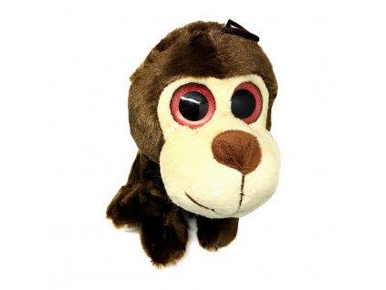 Mikro Zvířátko plyšové velké oči 20cm 0m+ opice