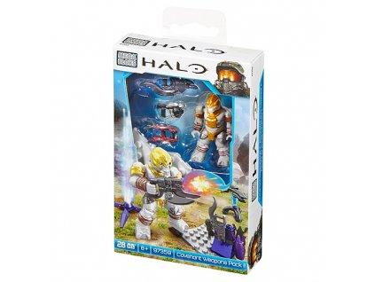 Mega Bloks Halo figurka Covenant se zbraněmi
