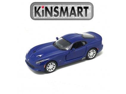 Kinsmart Auto Viper GTS 2013 SRT modré